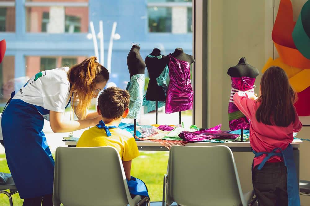 Dressmaking in class